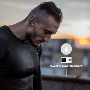 Read more about the article UM1007 TWS  Ear-Buds with IPX4 Water Resistance, Up to 4H Playback with Case, Secure Sports Fit(Black): Amazon- UltraProlink ProTwins