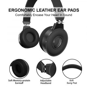 Read more about the article Zinq Beatle 5155 Super Bass Bluetooth On-Ear Headphones with Mic (Black): Amazon!!