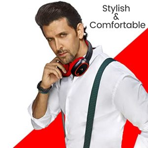 Read more about the article Zebronics Zeb-Thunder Wireless BT Headphone Comes with 40mm Drivers, AUX Connectivity, Built-in FM, Call Function, 9Hrs* Playback time and Supports Micro SD Card (Red)